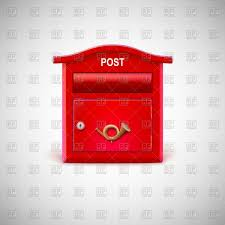 Letter Box Clipart A Post Box Stock Vector Illustration Of Service