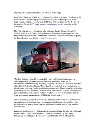 100 Trucking Jobs In Alabama Excited About New Gas Technology Diesel Fuel