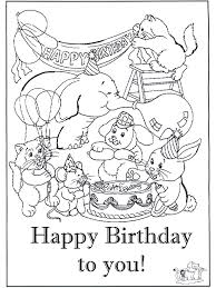 Free Coloring Media Project For Awesome Pages Birthday Cards