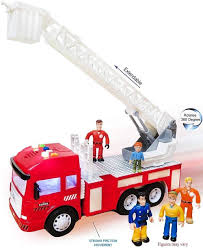 Amazon.com: FUNERICA Toy Fire Truck With Lights And Sounds - 4 ...