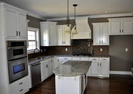 Kitchen Cabinet Colors With White Countertops Nonns Cabinets Flooring Amp Appliances Carpet Within