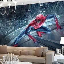 Superhero Room Decor Uk by Marvel Spiderman Kids Boys Children Photo Wallpaper Custom 3d