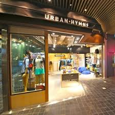 Urban Hymns Clothing Store Langham Place Hong Kong