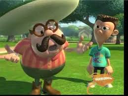 But With Friends Like His Who Needs A Younger Brother Sheen Estevez And Carl Wheezer Are Jimmys
