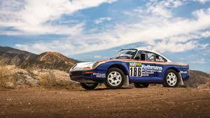 Paris-Dakar Porsche 959 Rally Car Is Headed To Auction For $3 Million ...