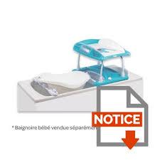 bebe confort table a langer bebe confort table à langer duo bleu bleu et blanc achat vente