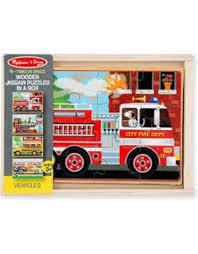 100 Melissa And Doug Fire Truck Puzzle Vehicle S In A Box Pow Science LLC