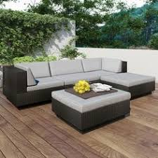 Lowes Canada Patio Sets by Corliving Ppo 801 Z Oakland 5 Piece Sectional With Chaise Lounge