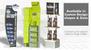 Our Custom Made High Quality Shop Displays Will Make Your Brand Stand Out From The Crowd