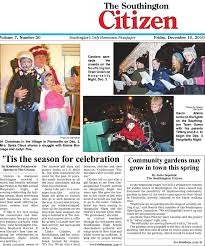 12 10 2010 southington citizen by dan chagne issuu