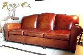 canap cuir occasion fauteuil cuir ancien canape cuir ancien style refection de