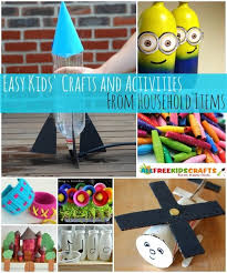 A Great Way To Save Money On Crafts Is Find Things That Are Already Lying Around Your House For Little Ones Use