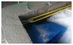 Swimming Pool Cover The Rope No Longer Travels This Direction Through Pulley But Takes Same 90