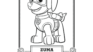 Ryder Coloring Pages Paw Patrol Printable Full Size Of With