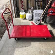 Uline Metal Platform Cart Retails Over 250CND
