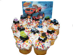 100 Monster Truck Cake Pan Blaze And The Machines Edible Image Topper Amazoncom