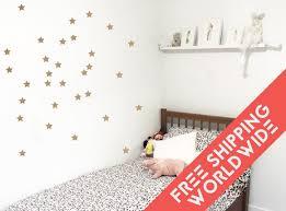 autocollant chambre fille étoiles autocollants muraux etoile stickers chambre bébé garçon