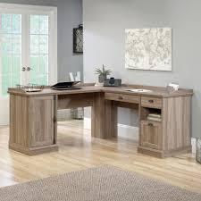 desks ameriwood home dakota l shaped desk with bookshelves black