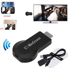 Wireless WiFi Dongle Phone to TV Video Stream HDMI Adapter For