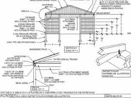 30 u0027 x 40 u0027 pole barn plan youtube