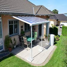 Palram Patio Cover Grey by Sierra Grey And White Patio Covers The Plastic People The