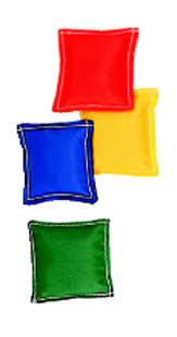Bean Bags 3 X 12 Pk Nylon Cover Plastic Bead Filling MASBB33