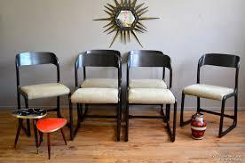 chaise traineau baumann chaises traineau luce l atelier lurette rénovation de