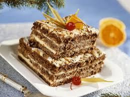 schoko nuss torte mit cremiger vanillefüllung