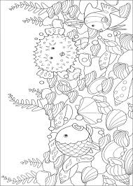 Perfect Underwater Coloring Pages 18 For Your Online With