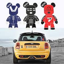 3 Pcs Mini Cooper Cute Cool Gloomy Bears Robot Red Black Blue ...