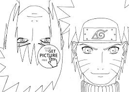 Coloriage Manga Naruto 76 Dessin à Imprimer Как рисовать