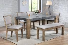 2 Tone Dining Room Chairs Glass Table Ebay Acme Ii Dark Gray Rustic Oak Fascinating W 4 Adora