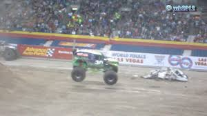 Grave Digger Freestyle Crash -- Monster Jam Alamodome San Antonio ... Monster Jam San Antonio 2017 Hlights Show 2 Youtube Photos Texas El Toro Loco Freestyle Monster Jam 2016 Tx 2014 Winner 12416 Grave Digger 100 Truck Tickets 2015 Tx1 Zombie Hunter Tx 11015 Marks 20th Anniversary In Alamodome Trucks Reveals At World Finals