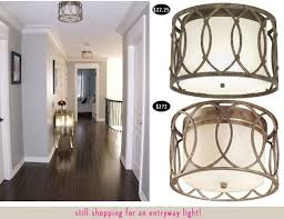 attractive flush mount ceiling lights for hallway 98 best images
