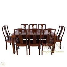 Chinese Antique Rosewood Dining Table W/8 Chairs Set 17LP38 ... Amazoncom Cjh Nordic Chinese Ding Chair Backrest 66in Rosewood Dragon Motif Table With 8 Chairs China For Room Arms And Leather Serene And Practical 40 Asian Style Rooms Whosale Pool Fniture Sun Lounger Outdoor Chinese Ding Table Lazy Susan Macau Lifestyle Modernistic Hotel Luxury Wedding Photos Rosewood Set Firstframe Pure Solid Wood Bone Fork