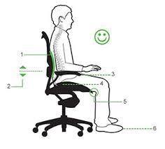 fauteuil de bureau ergonomique mal de dos bonne position au bureau s asseoir pour éviter le mal de dos