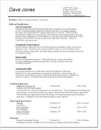 Entry Level Qa Tester Resume Quality Control Sample Assurance Samples