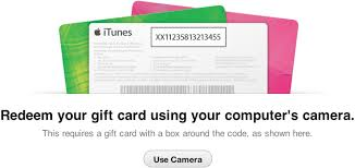 How to Redeem iTunes Gift Cards Using Your Mac s Built In Camera