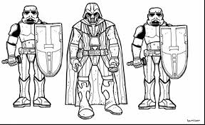 Extraordinary Star Wars Printable Coloring Pages With Color And