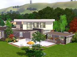 100 Riverview House Mod The Sims Modern