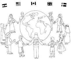Children Of The World Coloring Page 9 From Around Pages Free