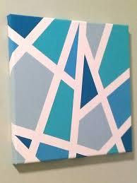 Tape Painting Ideas