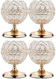 de b blesiya 4pcs kristall votive kerzenständer