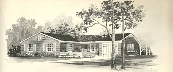 The Retro Home Plans by Vintage House Plans 1058 Antique Alter Ego