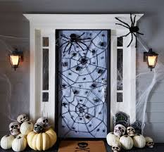 Nightmare Before Christmas Halloween Decorations by 30 Spooky Halloween Door Decorations To Rock This Year Brit Co