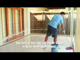 anti slip coating the best way to make slippery floor tiles and