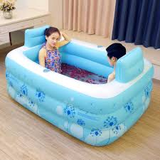 Portable Bathtub For Adults by Couple Pvc Portable Folding Inflatable Bath Tub With Air