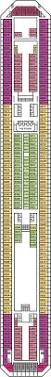 Carnival Splendor Deck Plans by Carnival Conquest Upper Deck Deck Plan Carnival Conquest Deck 6