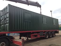 100 40ft Shipping Containers X 8ft Green New Container OfficeCanteenStorage Www