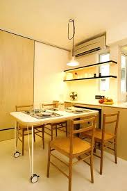Clever Dining Tables For Small Spaces Space Saving Ideas Room Layouts Bedroom Furniture